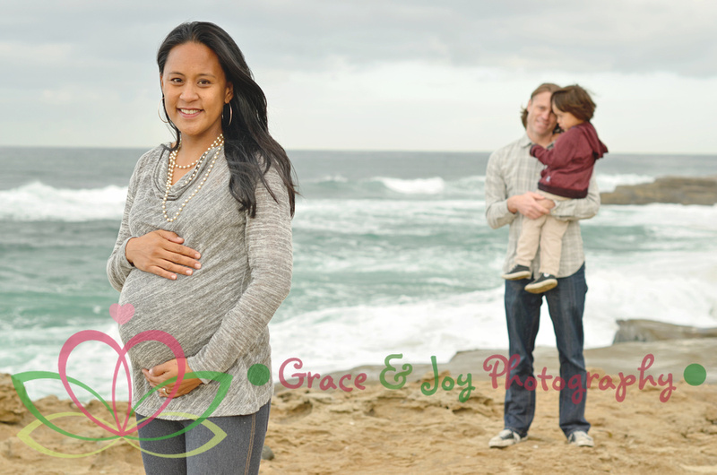 Windansea Beach images, maternity images